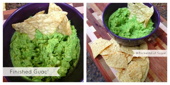 finished guac Collage