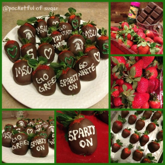 msu strawberry Collage