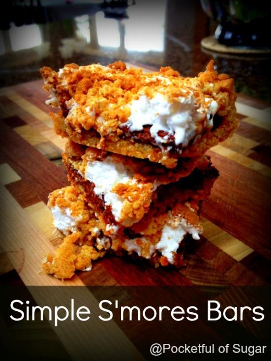 S'mores Bars - Pocketful of Sugar
