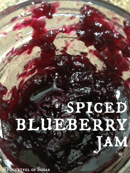 Spiced Blueberry Jam - Pocketful of Sugar