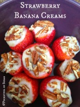 Strawberry Banana Creams (Healthy!)